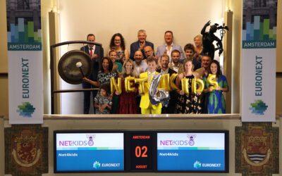 Net4kids 15 years: Gong sound Beursplein 5