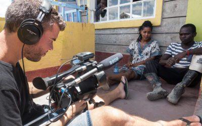Dolores Leeuwin met Net4kids naar Kenia