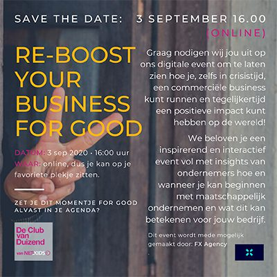 Re-boost Your Business for Good